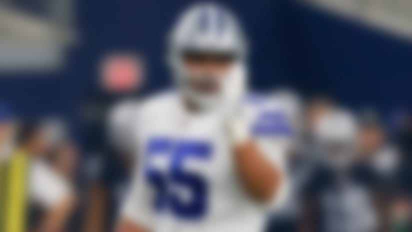 Dallas Cowboys defensive tackle Stephen Paea (55)