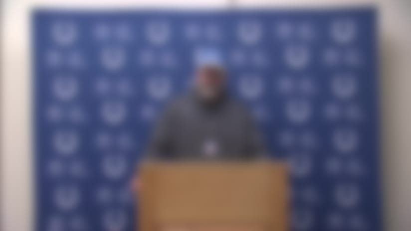 Colts postgame press conference