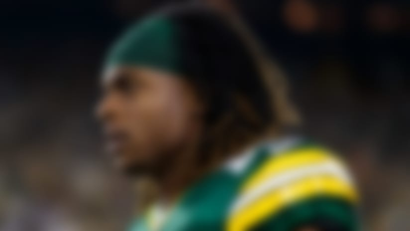 Green Bay Packers wide receiver Davante Adams (17) looks on from the sidelines prior to an NFL football game against the Philadelphia Eagles, Thursday, Sept. 26, 2019, in Green Bay, Wis. The Eagles defeated the Packers, 34-27. (Ryan Kang via AP)