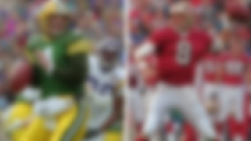 Top QBs through Super Bowl XL: Brett Favre, Tom Brady rise