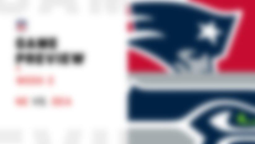 Patriots vs. Seahawks preview | Week 2