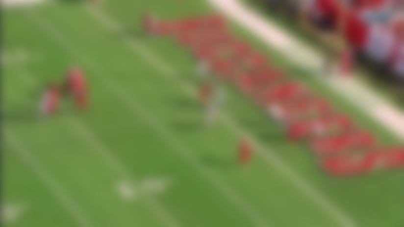 Winston checks down to Brate for key TD before halftime