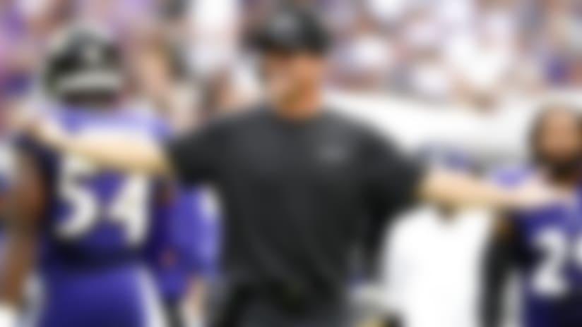 John Harbaugh's Ravens embracing hype surrounding 'MNF' vs. Chiefs