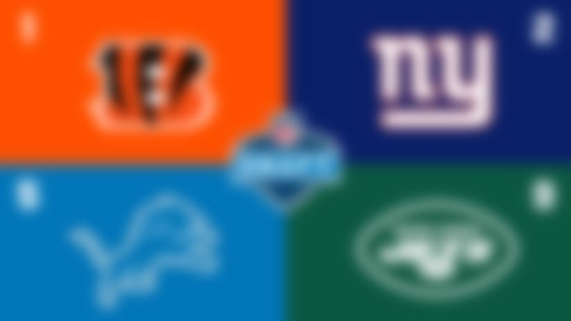 2020 NFL Draft order: Giants on Bengals' heels; Eagles No. 13