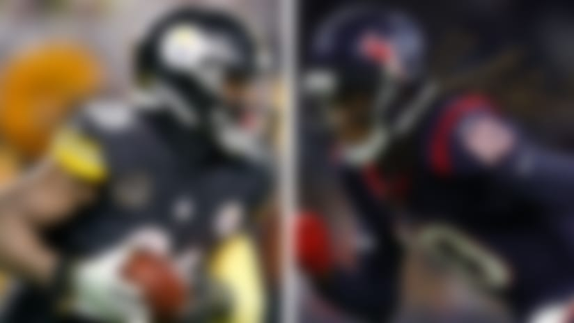 Le'Veon Bell and DeAndre Hopkins