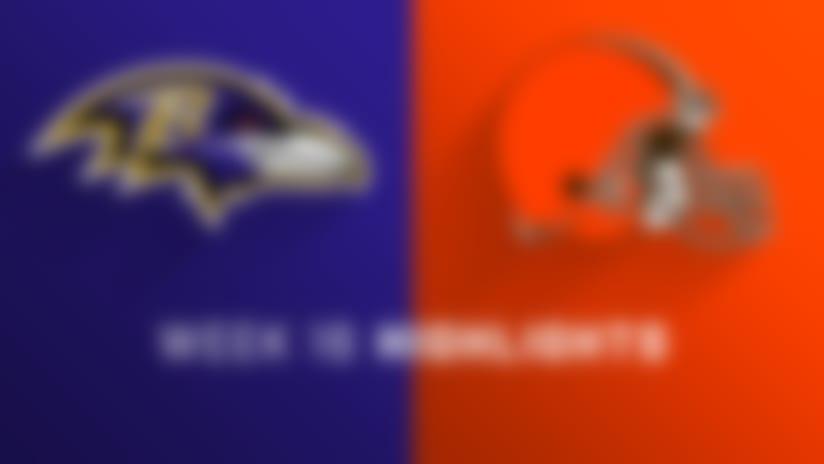 Ravens vs. Browns highlights   Week 16
