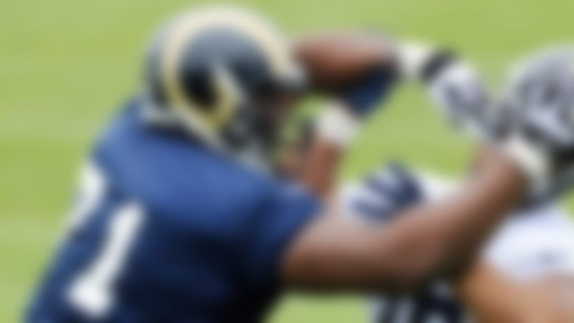 Terrell Brown gives St. Louis Rams imposing presence