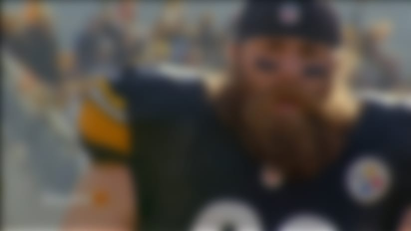 'Sound FX': Pittsburgh Steelers head coach Mike Tomlin and defensive end Brett Keisel