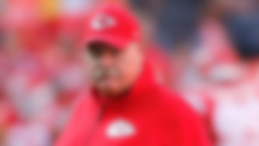 Kansas City Chiefs head coach Andy Reid before the first half of an NFL preseason football game against the Cincinnati Bengals in Kansas City, Mo., Saturday, Aug. 10, 2019. (AP Photo/Colin E. Braley)