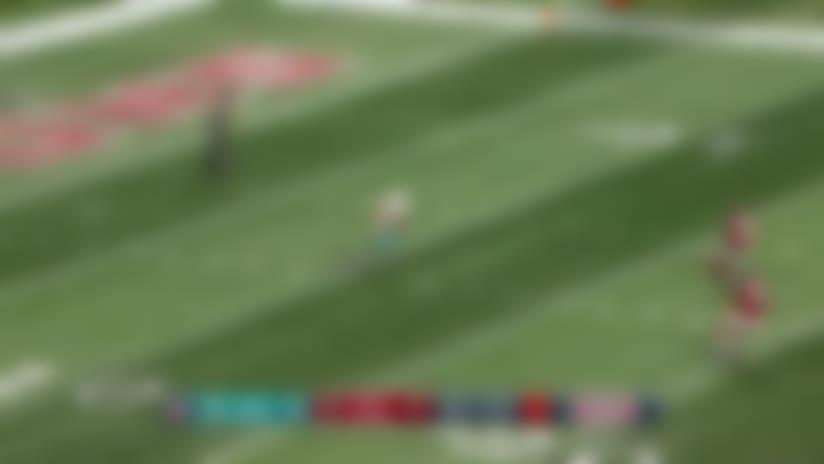 Alex Gray makes impressive tackle on special teams