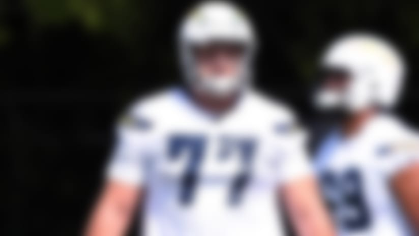 Chargers rookie OL Forrest Lamp suffers torn ACL