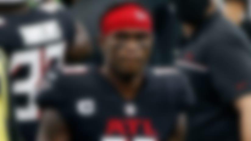 Atlanta Falcons WR Julio Jones (hamstring) inactive vs. Chicago Bears