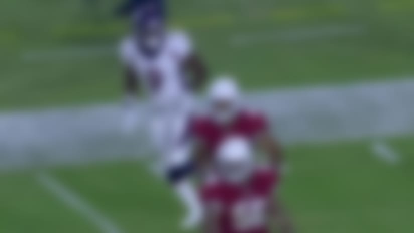 John Diarse evades defender, stays on his feet for 21-yard gain