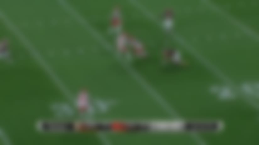 Getting Greedy! Williams picks off Haskins for Browns' second INT