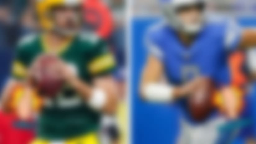 An image for Likes/Dislikes with Aaron Rodgers and Matthew Stafford.