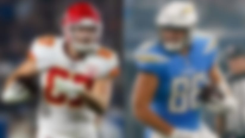 Travis Kelce, Hunter Henry
