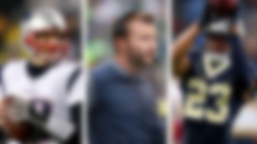 Tom Brady, Sean McVay and Marshon Lattimore