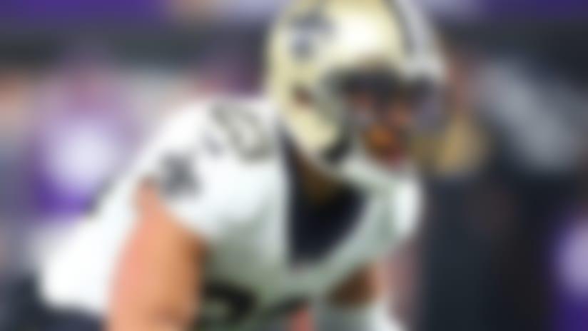 Jan 14, 2018; Minneapolis, MN, USA; New Orleans Saints cornerback Marshon Lattimore (23) against the Minnesota Vikings during the NFC divisional playoff game at U.S. Bank Stadium. Mandatory Credit: Mark J. Rebilas-USA TODAY Sports