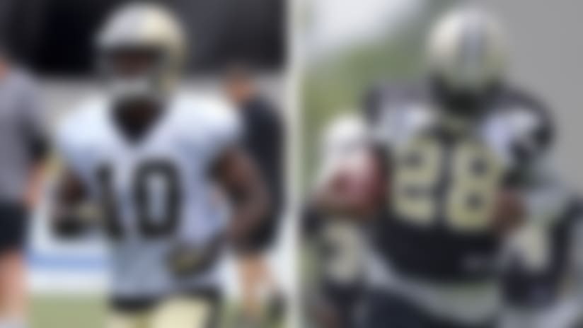 C.J. Spiller, Brandin Cooks shining in Saints minicamp