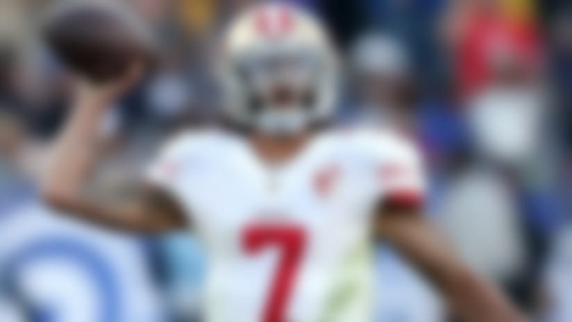 Colin Kaepernick would be excited to join Ravens