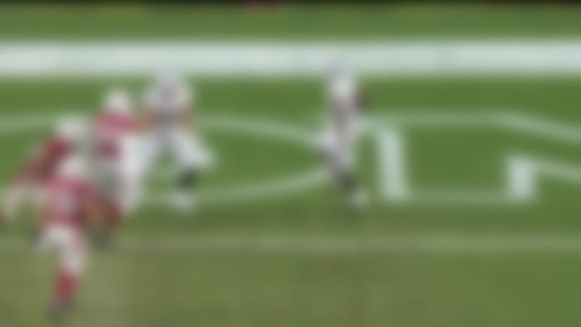 Mack Brown zips up the middle for first TD of '19 preseason