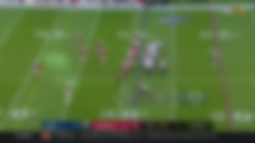 Goff throws a tight-window beauty to Josh Reynolds for 20 yards
