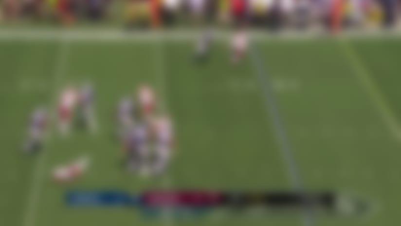 Ryan Kerrigan runs down Dak for big sack on third-down
