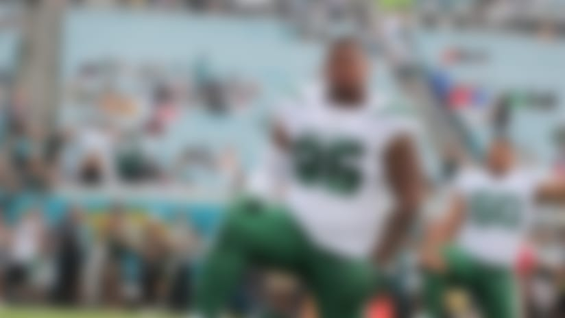 New York Jets defensive lineman Quinnen Williams