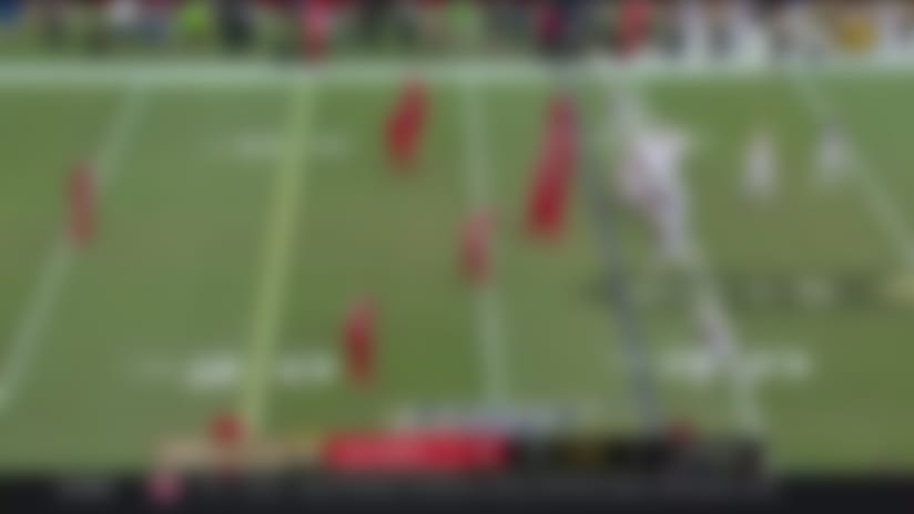 Mike Edwards DROPS Taysom Hill for sack