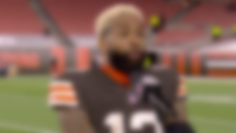 OBJ reflects on chemistry with Baker after Week 2 win