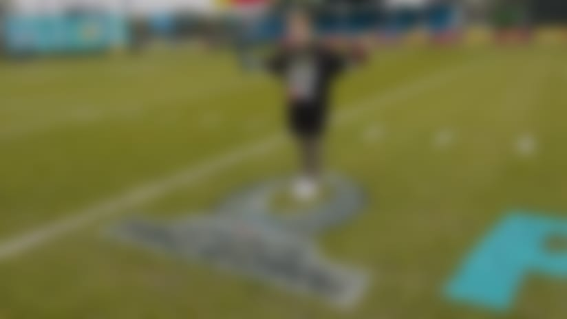 Braydon Bent meets the AFC stars at the Pro Bowl