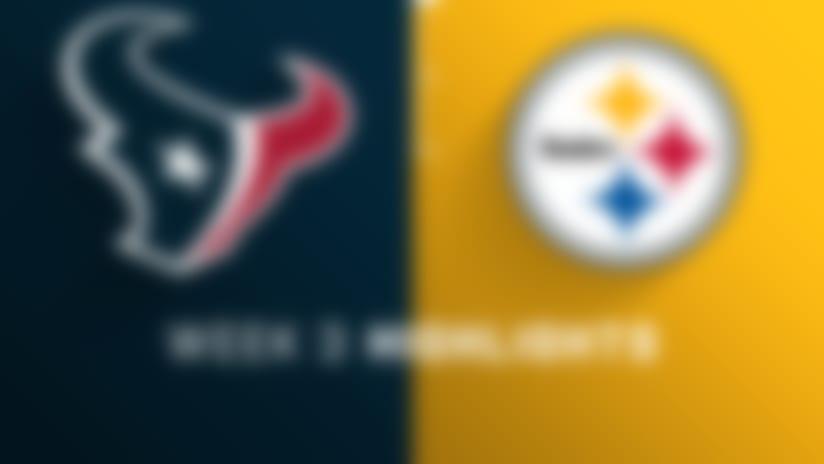 Texans vs. Steelers highlights | Week 3
