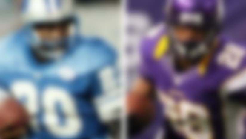 Madden cover vote: Barry Sanders or Adrian Peterson