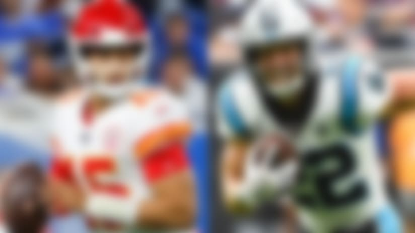 Mahomes, McCaffrey among Players of the Month