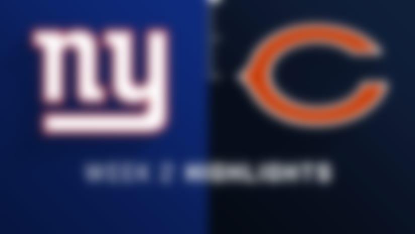 Giants vs. Bears highlights | Week 2