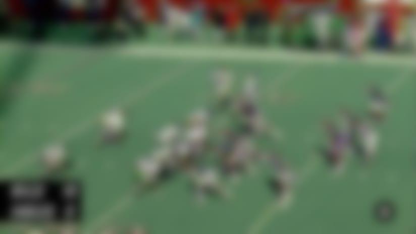 NFL Throwback: Jim Kelly vs Randall Cunningham in 1990