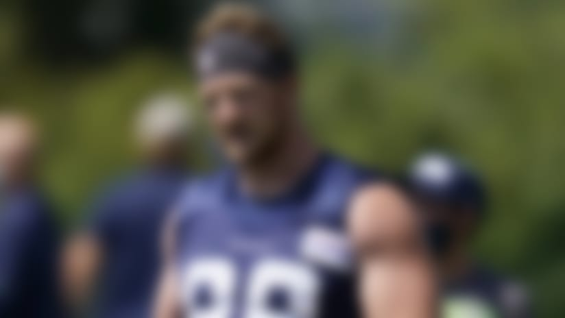 Seahawks TE Will Dissly: Return to field 'was like Christmas morning'