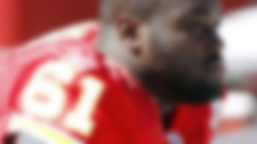 Rodney Hudson of Kansas City Chiefs lost for season
