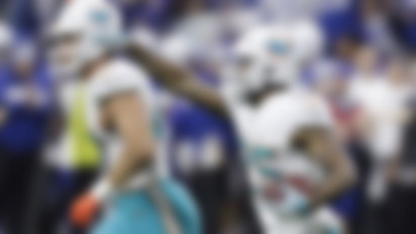 Turnovers occur on THREE STRAIGHT plays in Dolphins-Colts