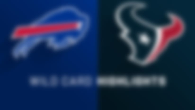 Bills vs. Texans highlights | AFC Wild Card