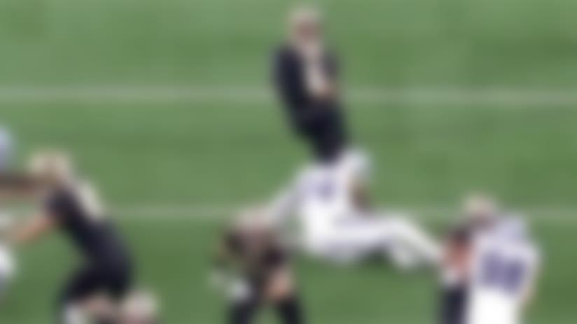 Cowboys rough the punter to keep Saints' drive alive
