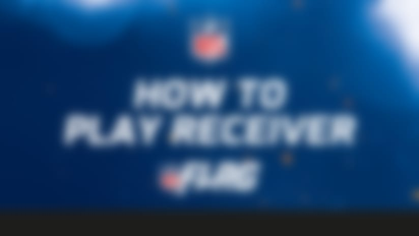 NFL Flag: How to play receiver