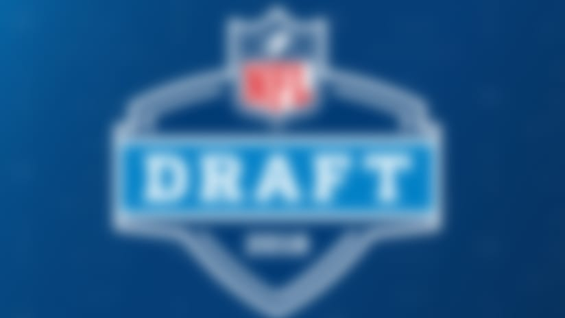 An image featuring the 2018 NFL Draft logo.