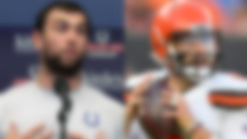 On My Radar: Andrew Luck's honesty; Browns' O-line trouble