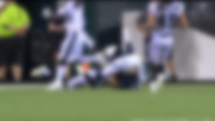 Tanner McEvoy twists for 17-yard TD