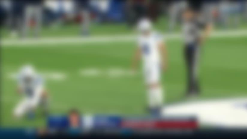 Titans block Colts' 53-yard field goal attempt