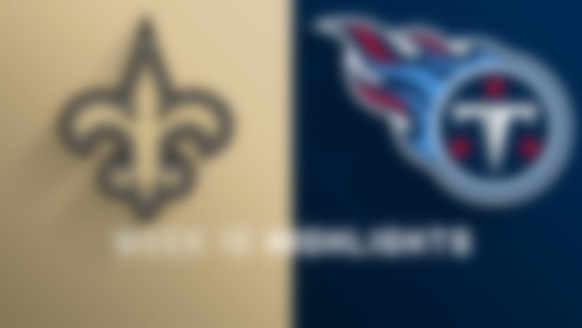 Saints vs. Titans highlights | Week 16