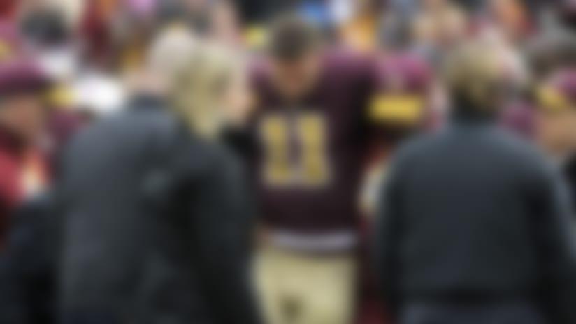 Ian Rapoport: Washington Redskins quarterback Alex Smith's injury 'not a career threatening injury'