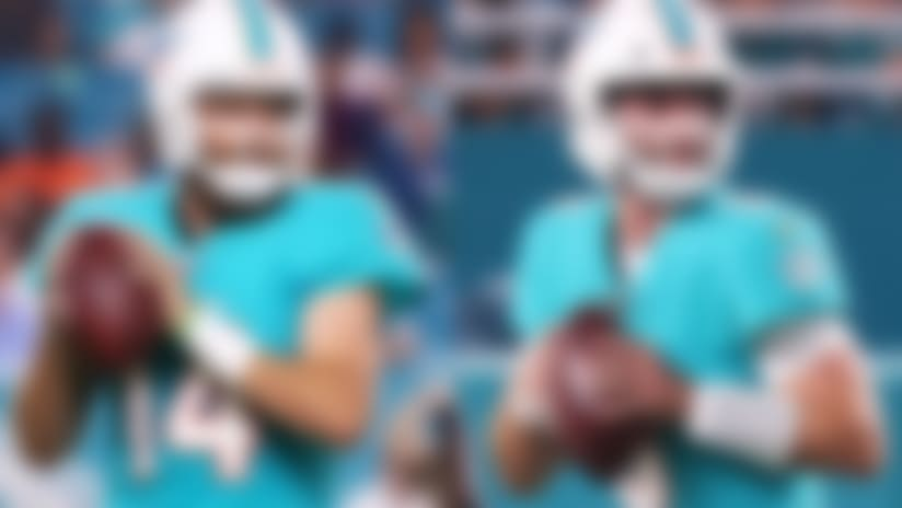 Josh Rosen plays into fourth in first Dolphins action