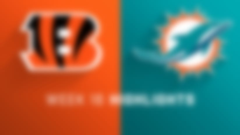 Bengals vs. Dolphins highlights | Week 16